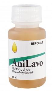 Anivox pullo kissakoira logolla ei taustaa